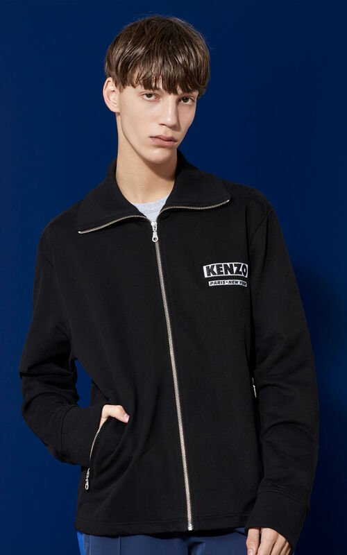Come Out  Track Jacket, BLACK, KENZO