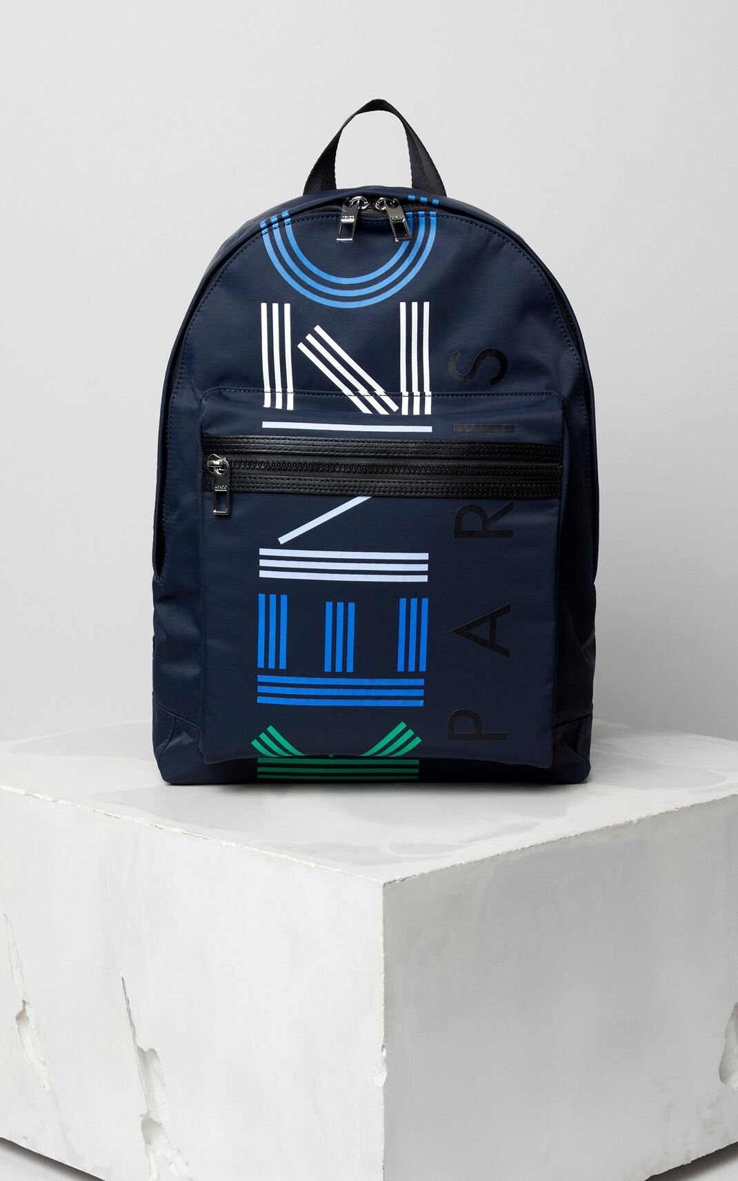 INK Large KENZO logo multico backpack for men