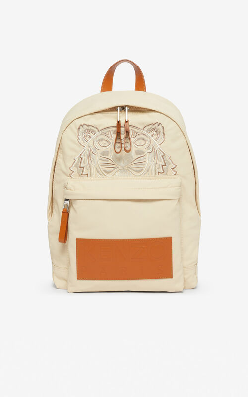 OFF WHITE 'High Summer Capsule Collection' large Tiger backpack for men KENZO
