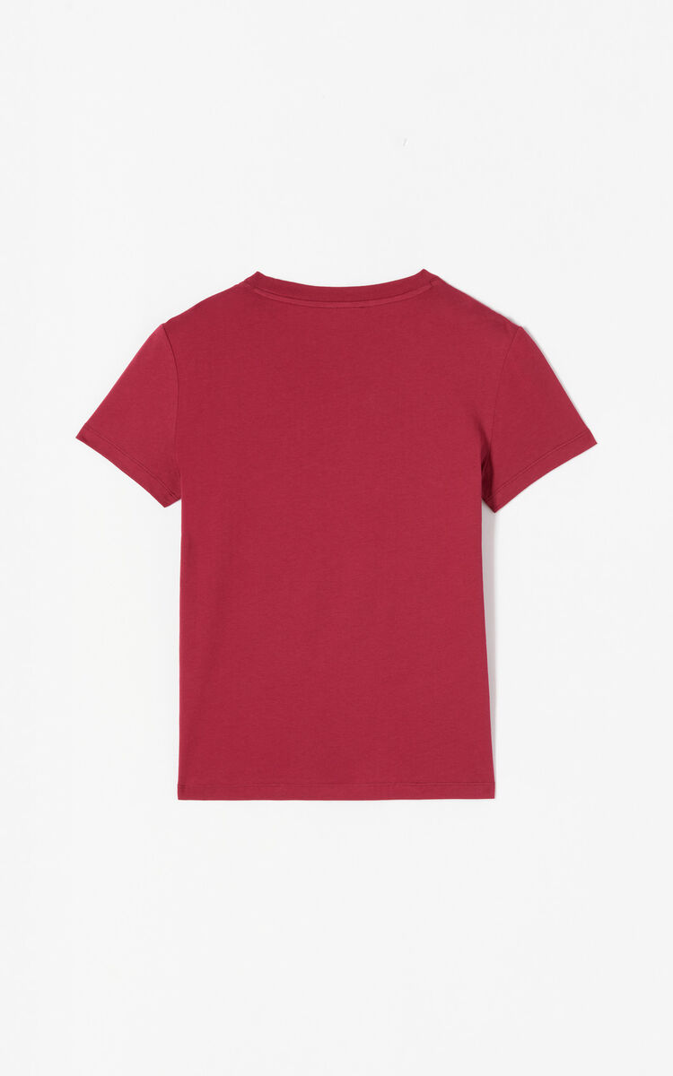 PEONY RED 24 Tiger T-shirt for women KENZO