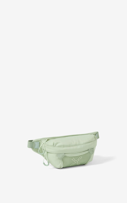 ALMOND GREEN KENZO Sport small bumbag for unisex