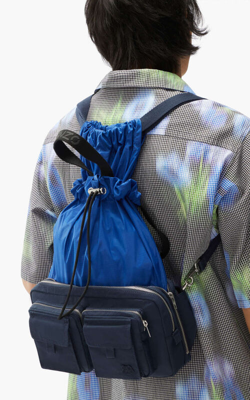 MIDNIGHT BLUE K-Konvert modular rucksack for men KENZO