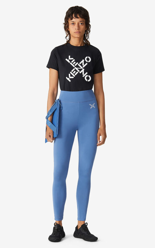 COBALT KENZO Sport 'Little X' leggings for women