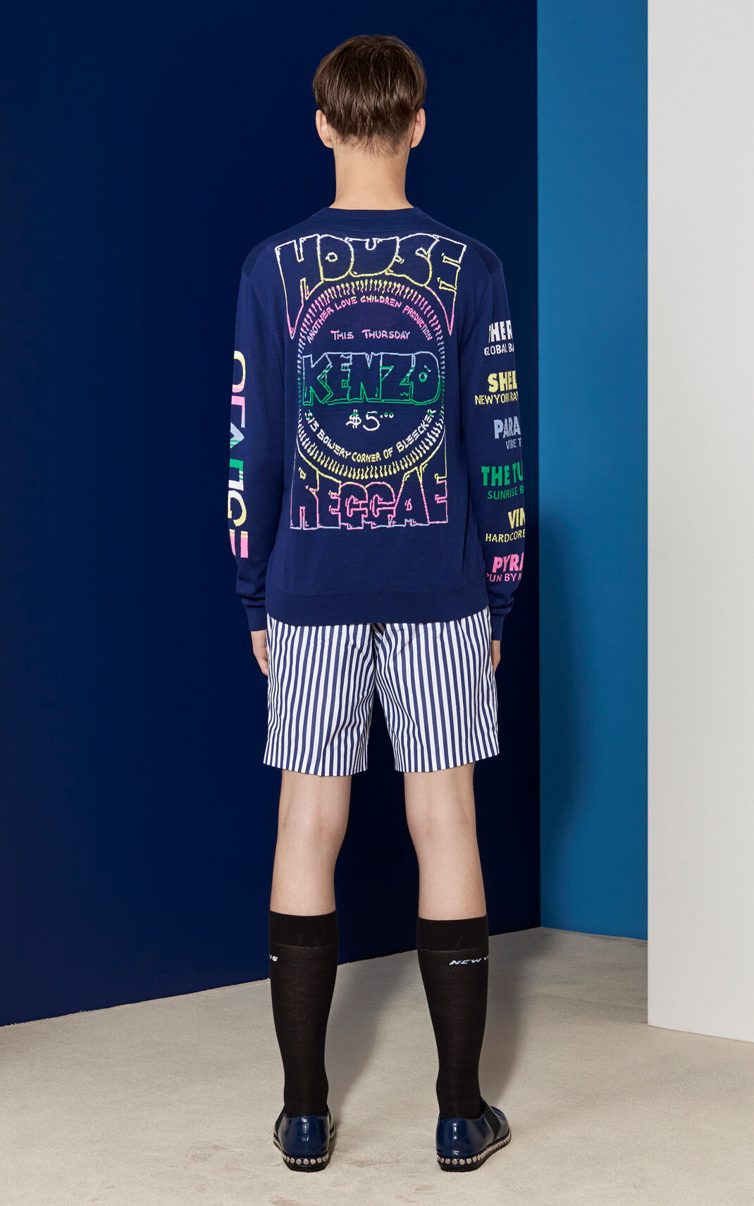 MULTICOLOR Flyers Sweater for men KENZO