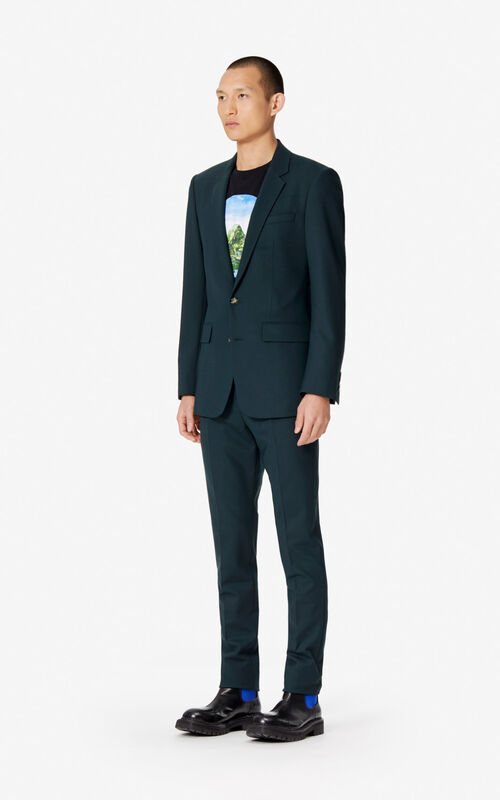 PINE Wool blazer for men KENZO
