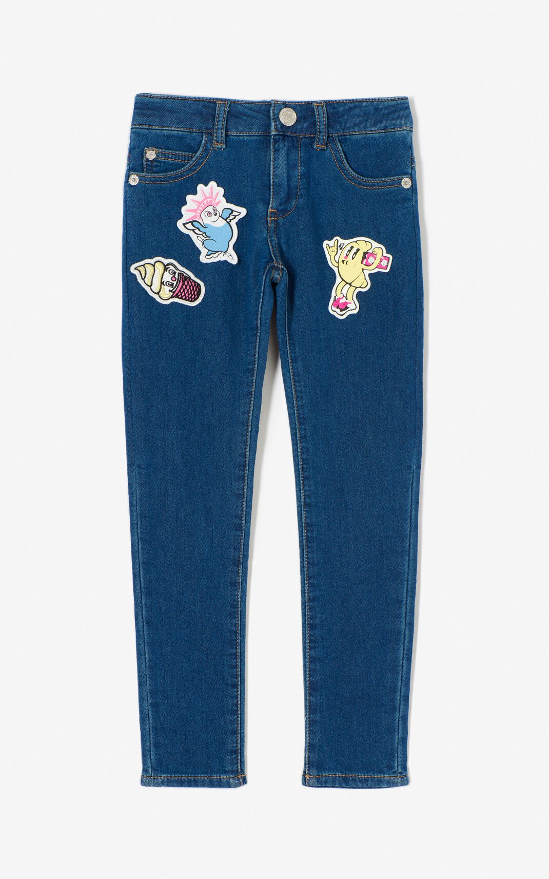 'Food Fiesta' slim jeans for women KENZO