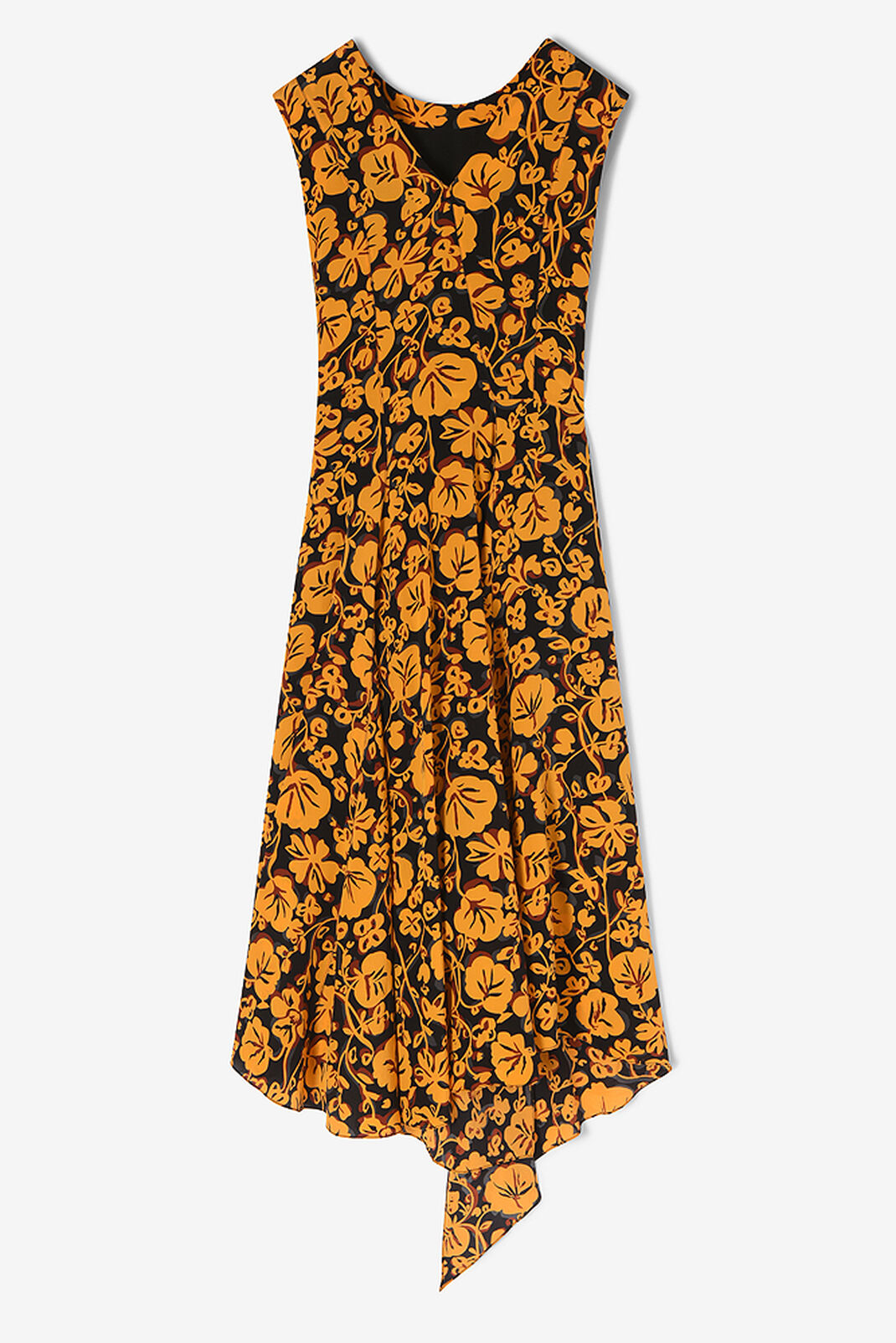 MARIGOLD 'Floral Leaf' Midi Dress for women KENZO