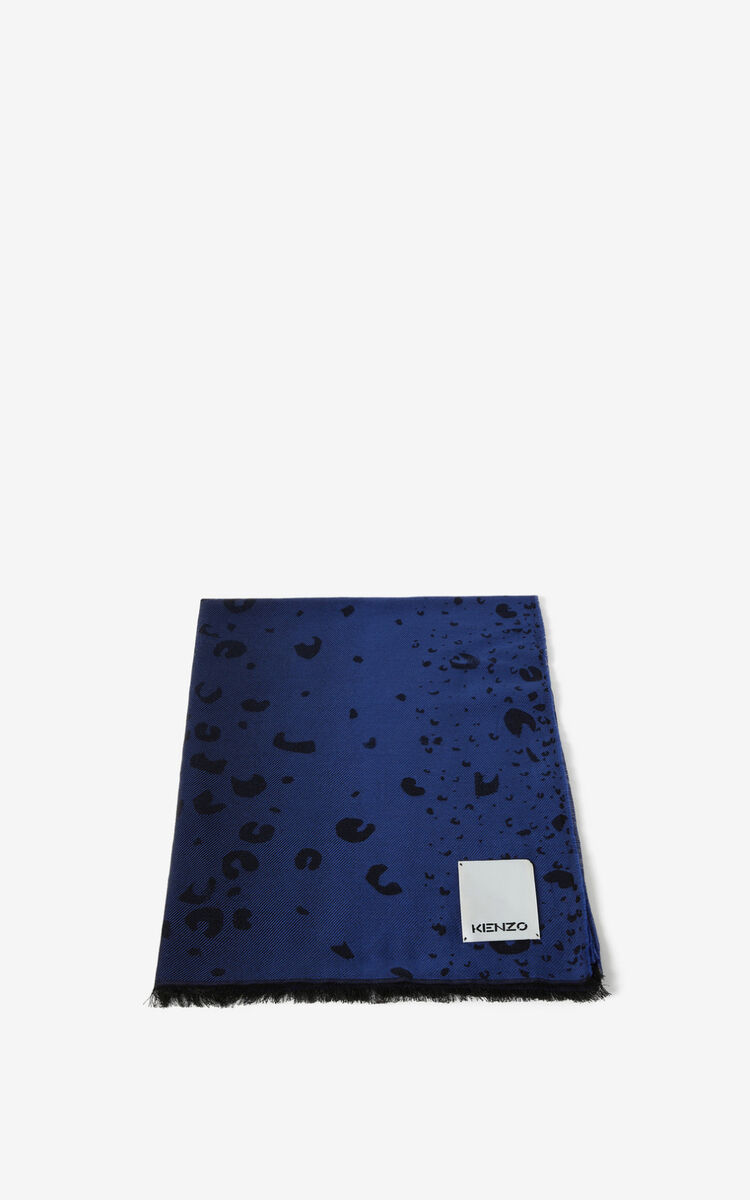 ROYAL BLUE Stole for unisex KENZO