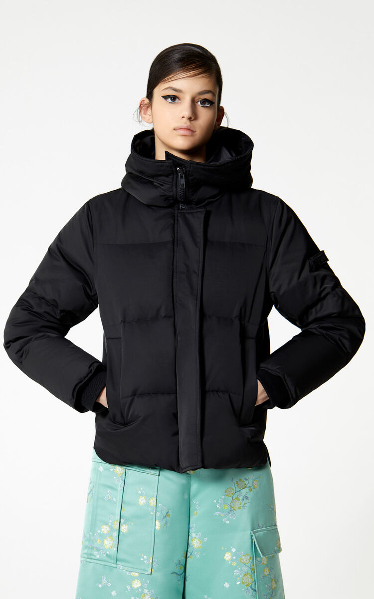 Hooded Quilted Down Jacket For Women Kenzo Kenzo