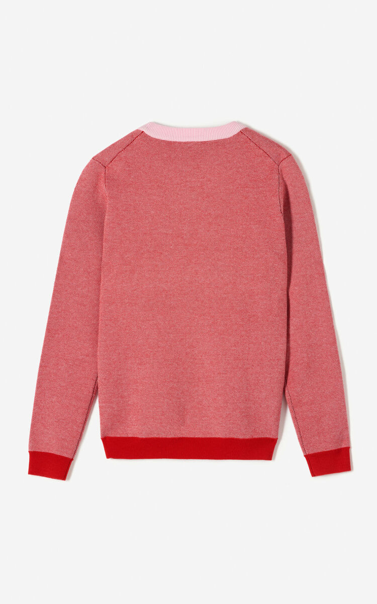 PASTEL PINK Eye jumper for women KENZO