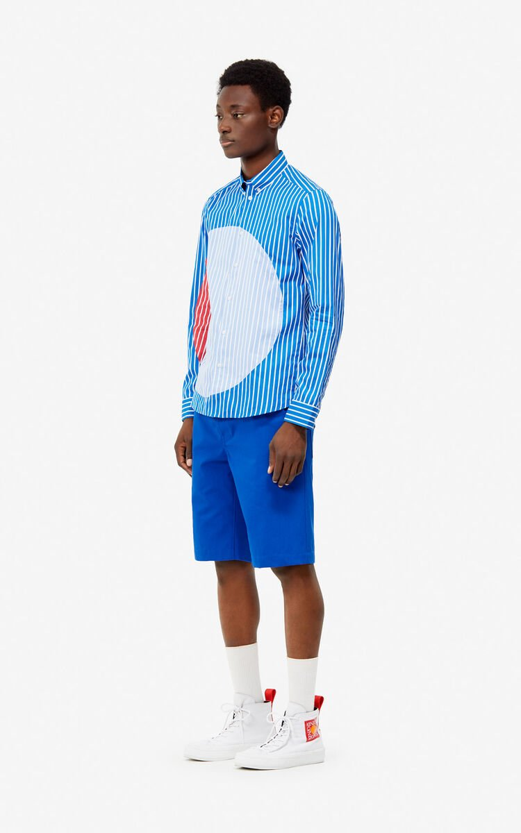 COBALT Striped 'Dots' shirt for men KENZO