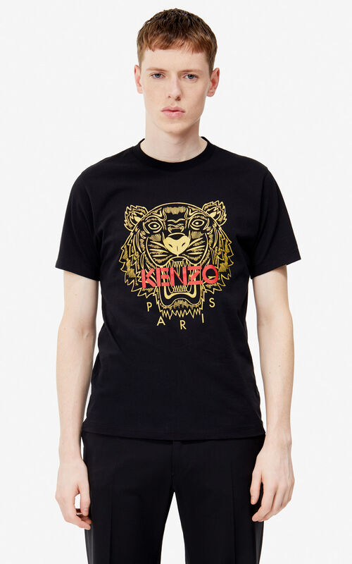 BLACK Tiger t-shirt 'Exclusive Capsule' for men KENZO