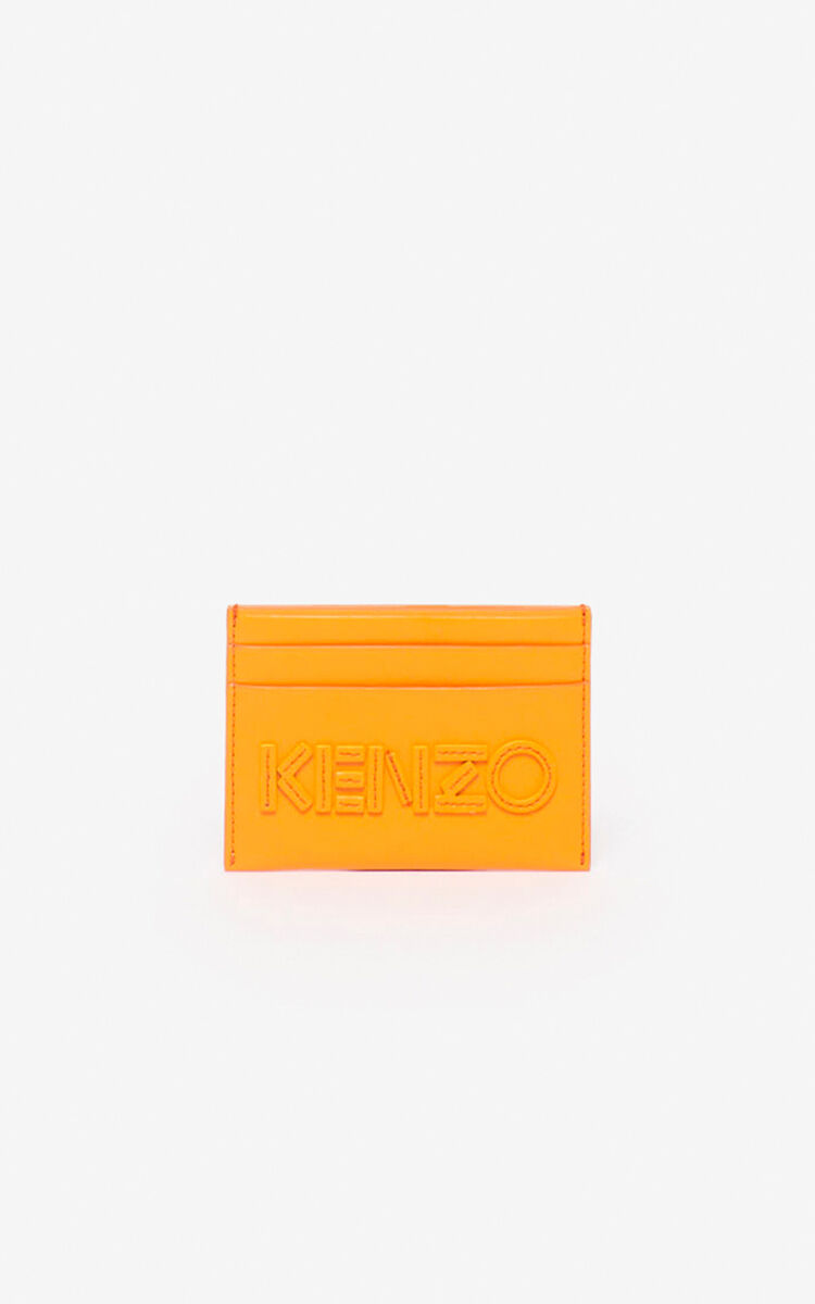 MEDIUM ORANGE Kontrast card holder for unisex KENZO