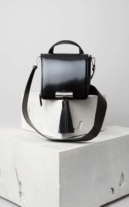 Polished Sailor bag, BLACK, KENZO