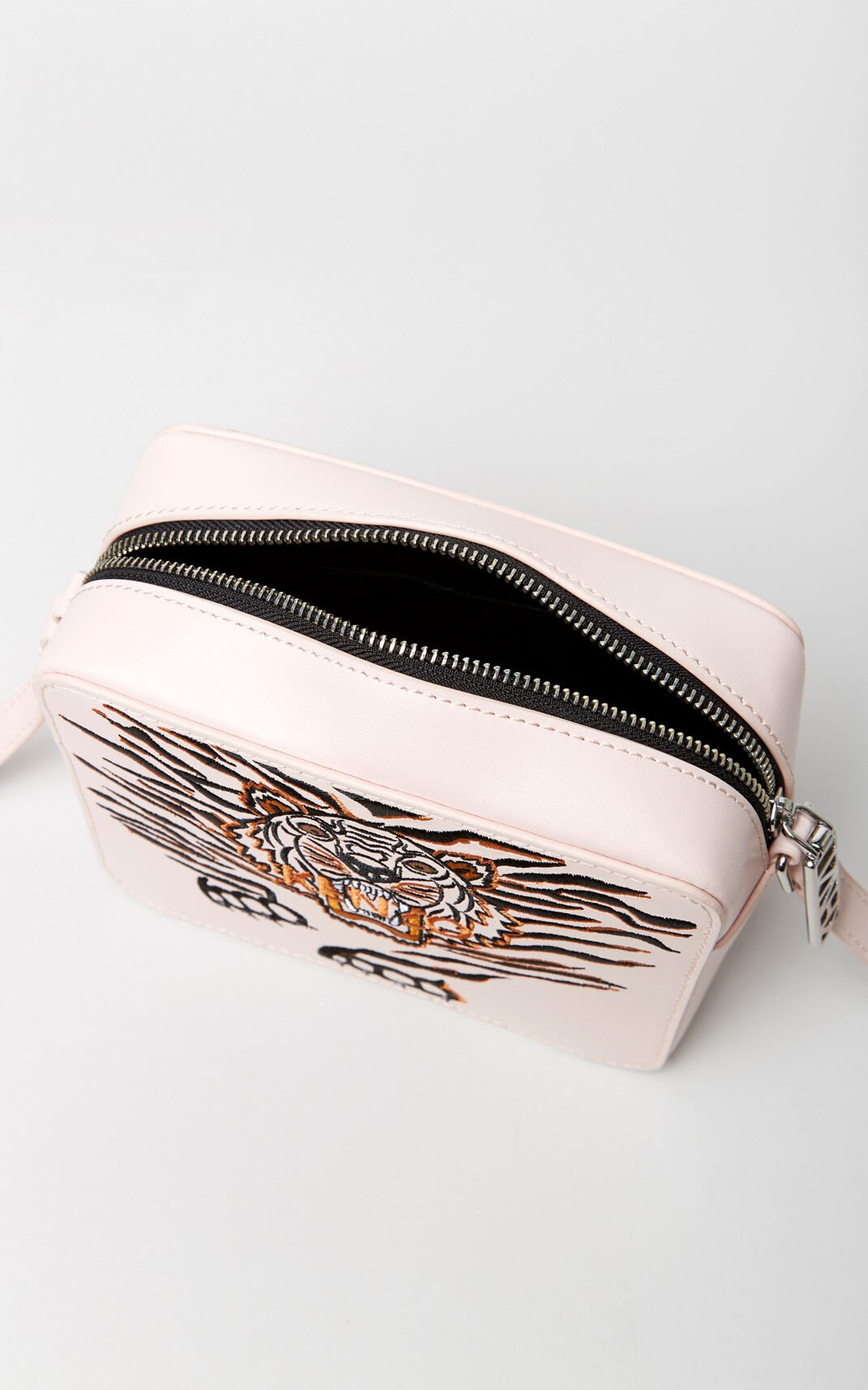 FADED PINK Mini 'Crawling Tiger' Camera Bag for women KENZO