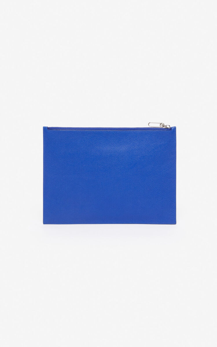 FRENCH BLUE 'Tiger Mountain' A4 clutch for unisex KENZO