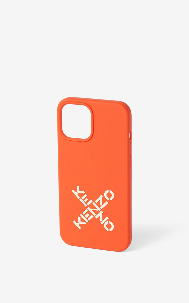 VERMILLION iPhone 12 Pro Max case for unisex KENZO