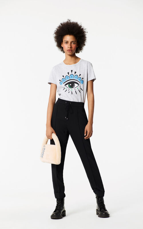 PALE GREY Eye T-shirt for women KENZO