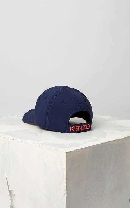 6523f8bfe57d6b ... NAVY BLUE Neoprene Tiger cap for unisex KENZO