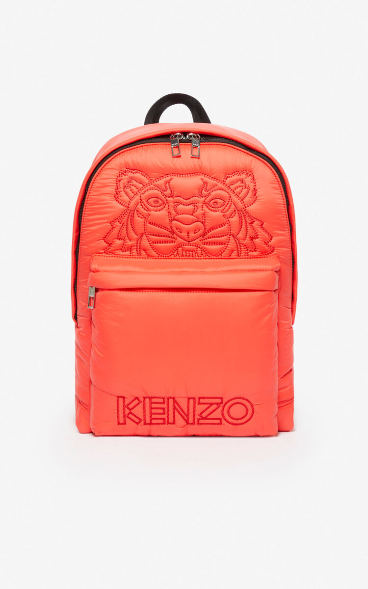 MEDIUM RED Large Tiger 'Kampus' backpack for unisex KENZO
