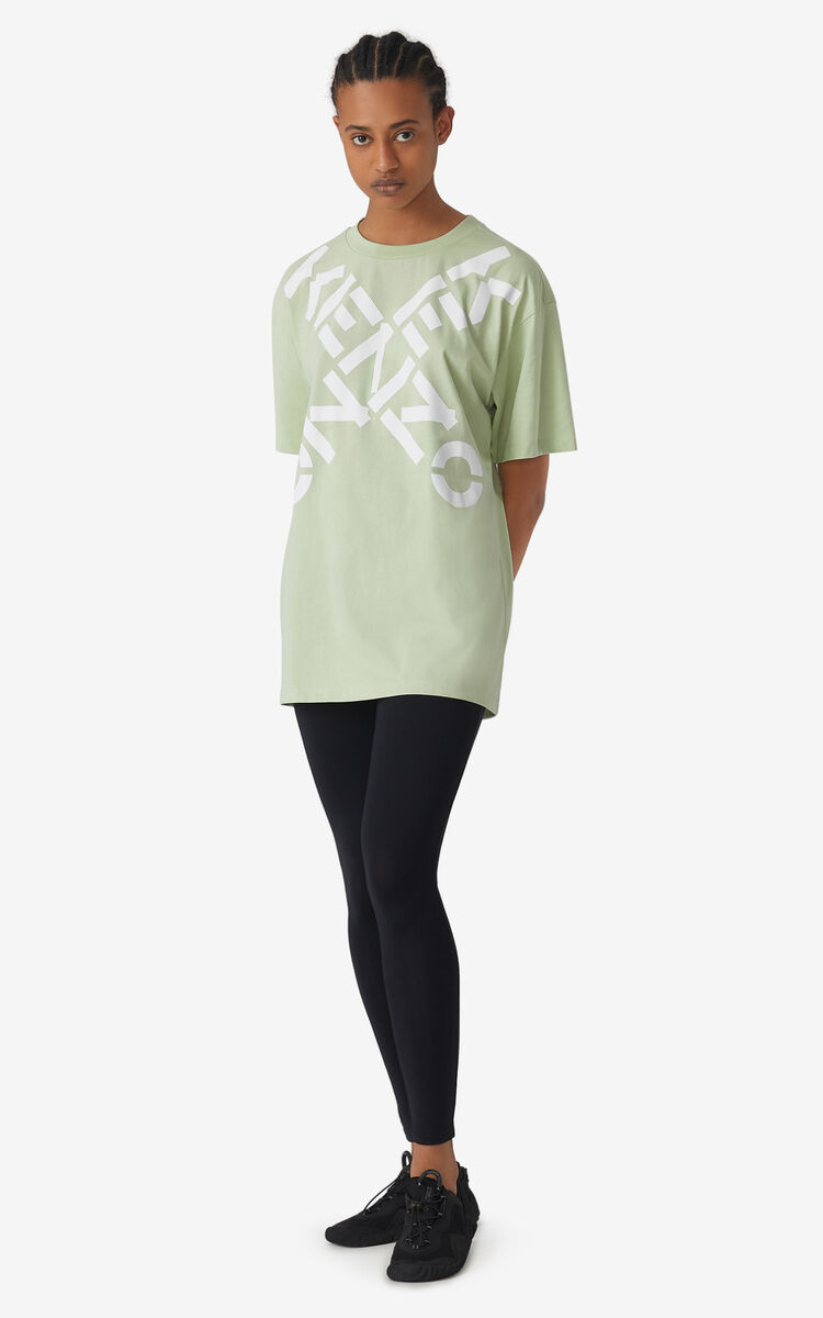 REED KENZO Sport 'Big X' oversized t-shirt for men