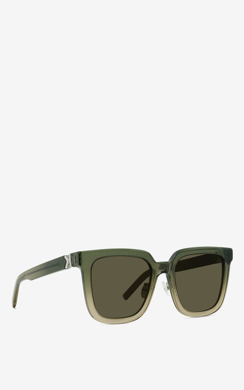 KHAKI K Logo sunglasses for women KENZO