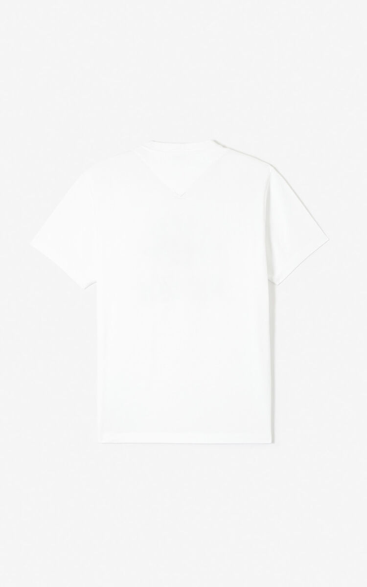 WHITE 'Cupid' T-shirt 'Capsule Back from Holidays' for men KENZO