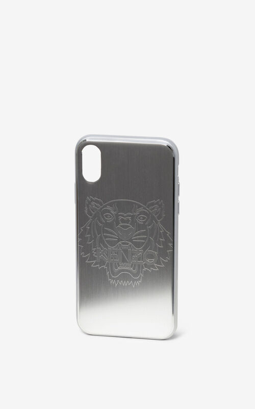 SILVER iPhone X Case for men KENZO
