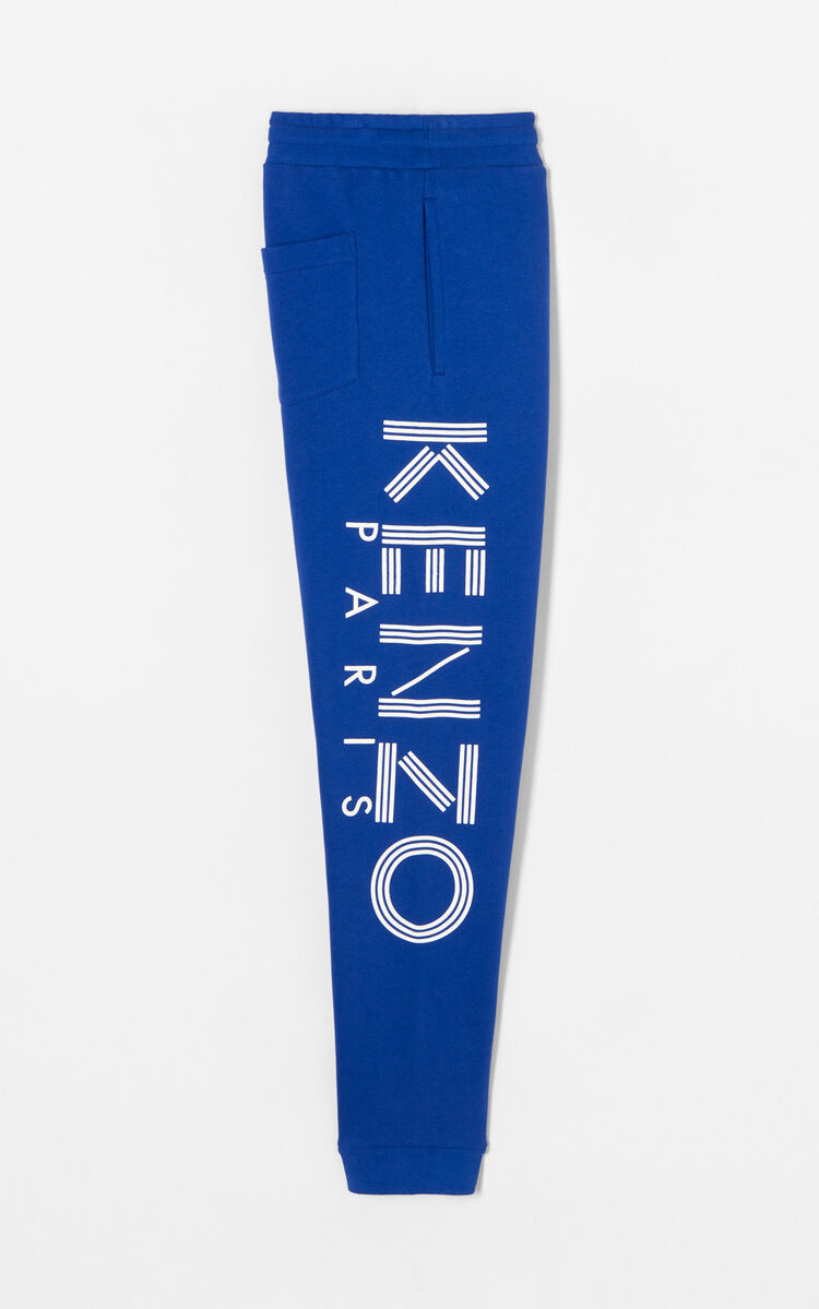 FRENCH BLUE Joggers with KENZO logo for men