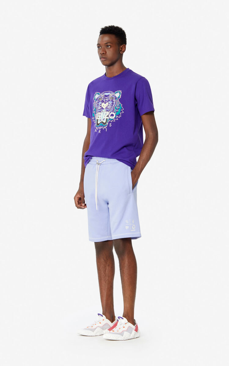 AUBERGINE Tiger T-shirt for men KENZO