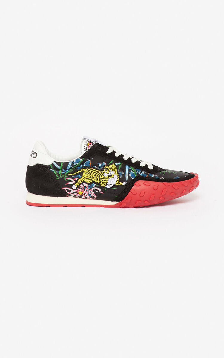 BLACK Sea Lily' KENZO MOVE trainers for women