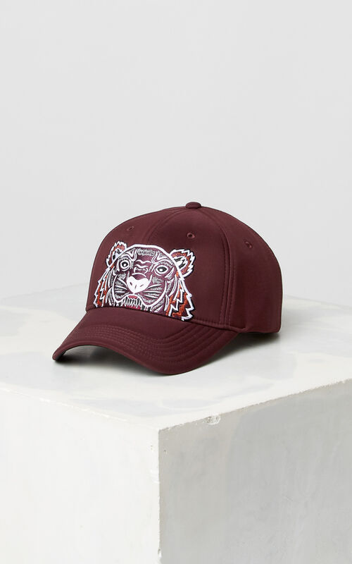 5b5187e8 BORDEAUX Neoprene Tiger cap for unisex KENZO ...