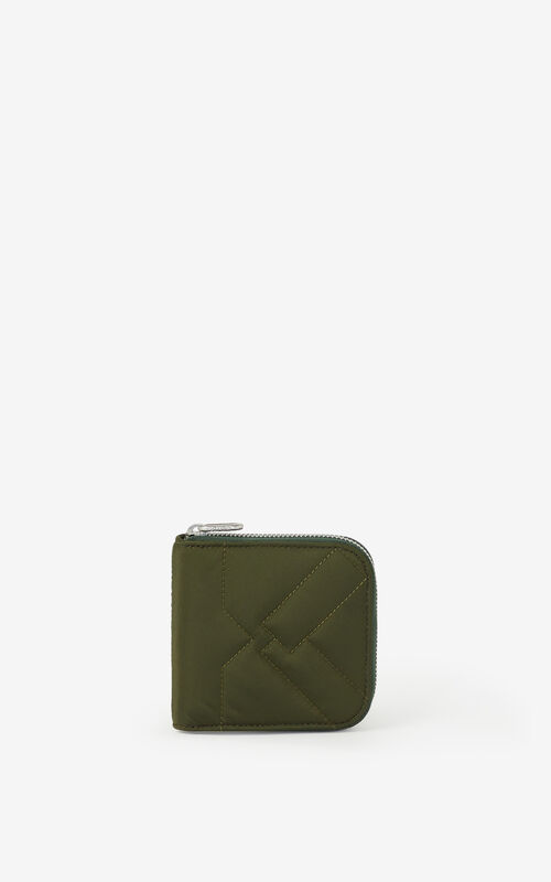 FERN Small Kube purse with zip for unisex KENZO