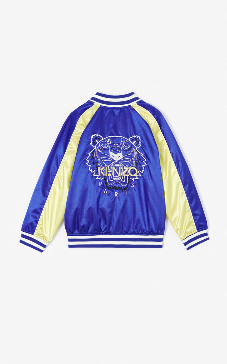 COBALT 'Dragon Celebration' Tiger Teddy jacket for men KENZO