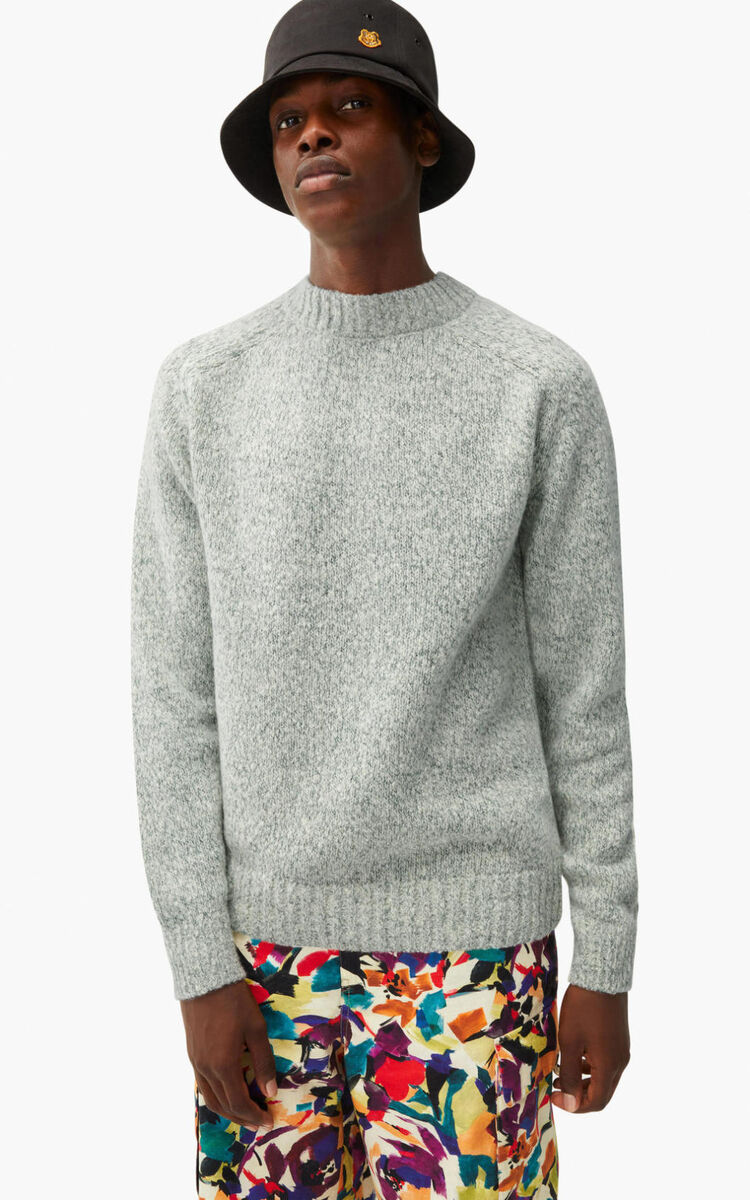 OFF WHITE Recycled cashmere K jumper for women KENZO