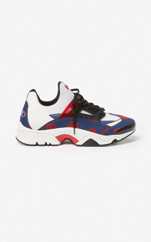 COBALT Sonic Roses trainers for unisex KENZO