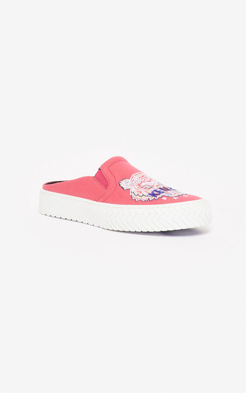 CORAL Tiger K-Skate slip-on mules for unisex KENZO