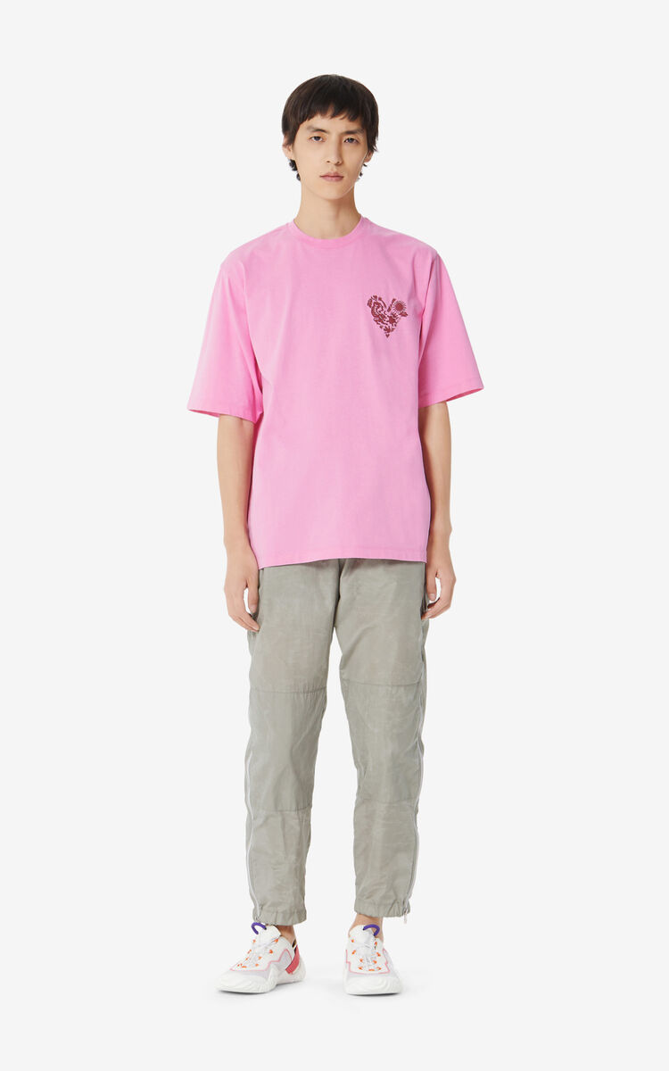 ROSE 'Lucky Star' T-shirt for men KENZO