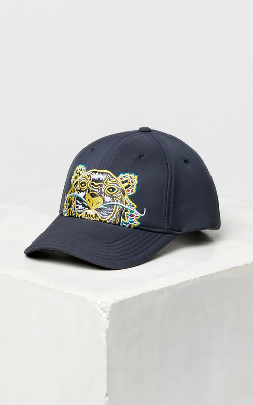 78461bd8a2173a ANTHRACITE Neoprene 'Dragon Tiger' cap for unisex KENZO ...