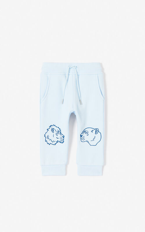 23009517 Baby Boy · LIGHT BLUE Joggers for men KENZO ...