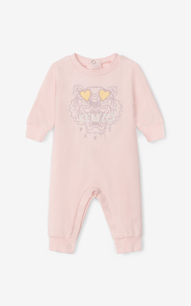 FADED PINK Tiger jumpsuit for men KENZO