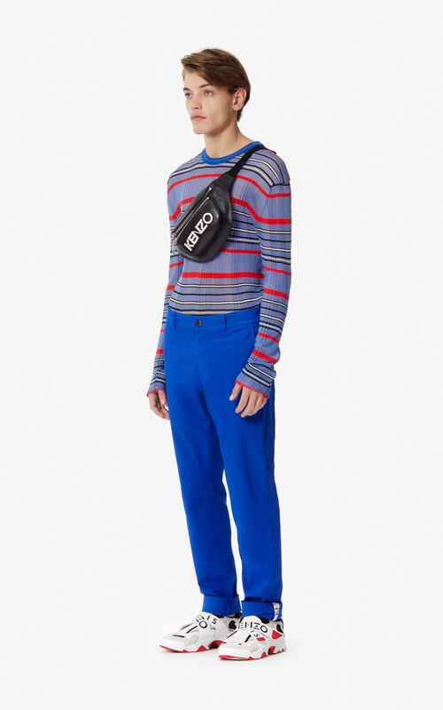 FRENCH BLUE Chinos for men KENZO