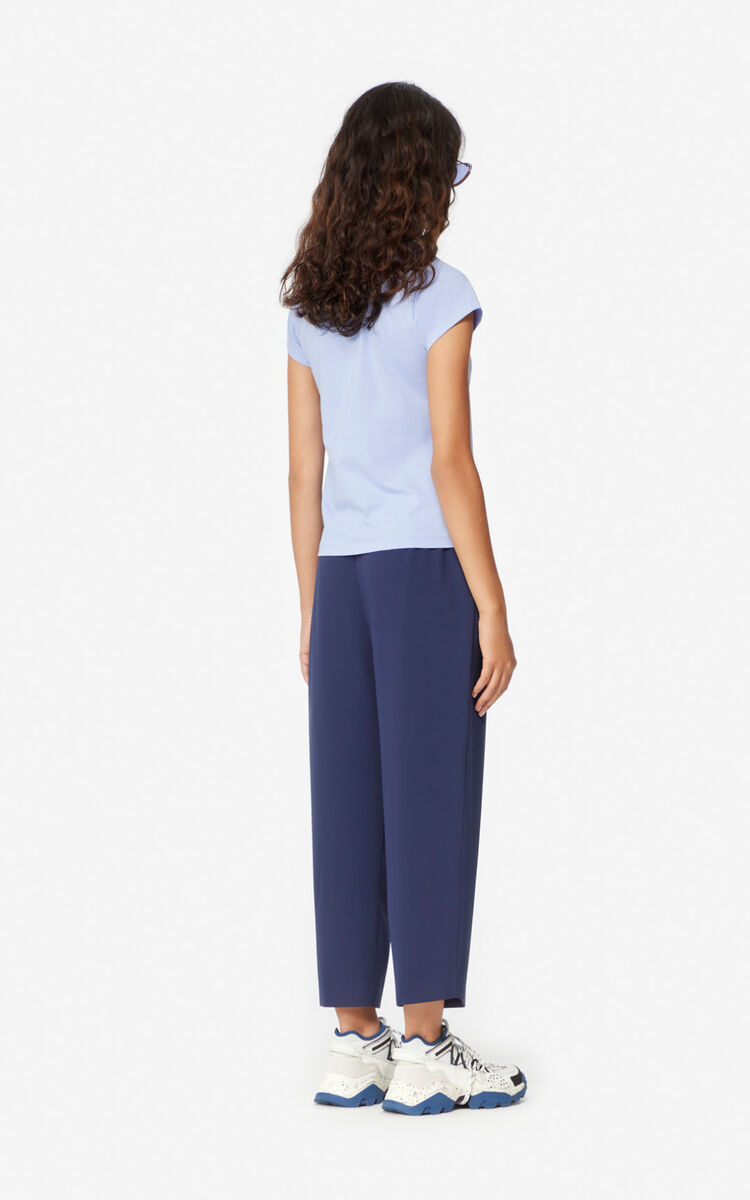 MIDNIGHT BLUE Pleated trousers for women KENZO