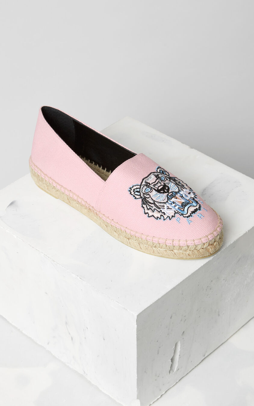 Tiger Espadrilles, FADED PINK, KENZO