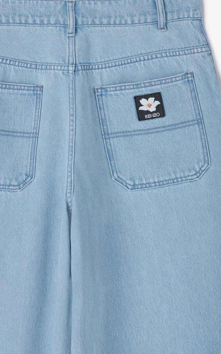 SKY BLUE Faded jeans for women KENZO