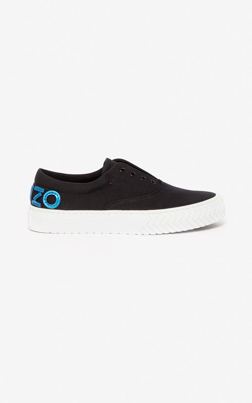 BLACK 'Holiday Capsule' K-Skate sneakers for unisex KENZO