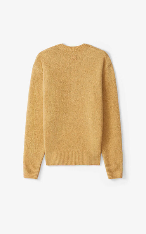 BEIGE Recycled cashmere K jumper for unisex KENZO
