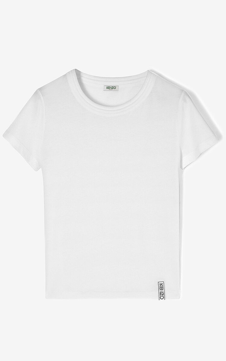 WHITE KENZO Essentials  t-shirt for women