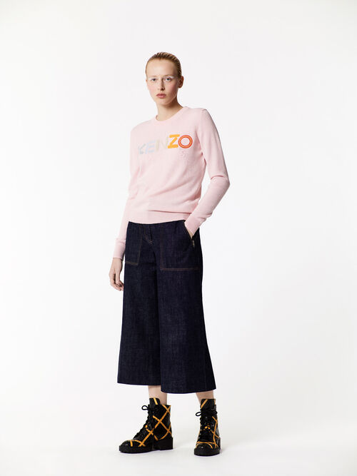 FADED PINK KENZO Paris Sweater  for women
