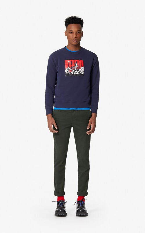INK 'Tiger Mountain' sweatshirt for men KENZO